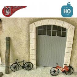 Bicyclettes (10 pcs) HO PN Sud Modélisme 87710 - Maketis