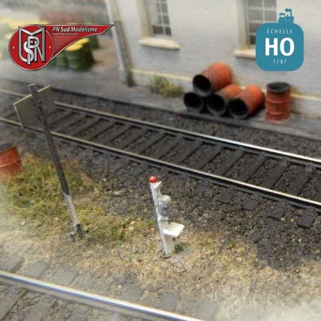 Trackside telephones (3 pcs) H0 PN Sud Modelisme 0806 - Maketis