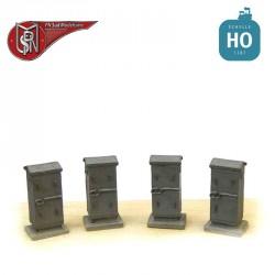Large battery boxes H0 PN Sud Modelisme 0805