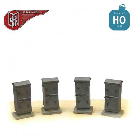 Large battery boxes H0 PN Sud Modelisme 0805 - Maketis