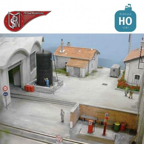 Cuve pour station Gasoil HO PN Sud Modélisme 87119 - Maketis