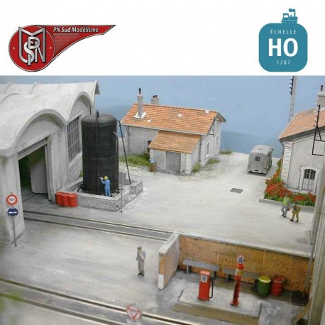 Tank für Dieselstation H0 PN Sud Modélisme 87119 - Maketis