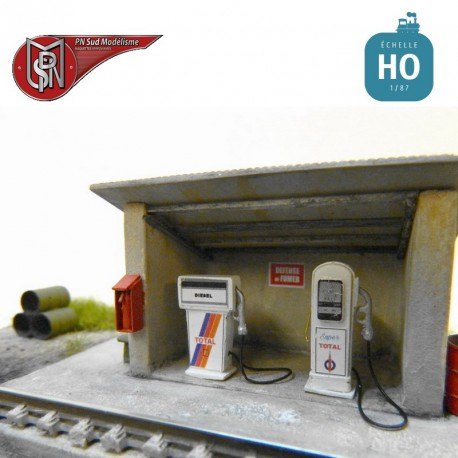 Poste à Gasoil pour dépôt HO PN Sud Modélisme 87121 - Maketis