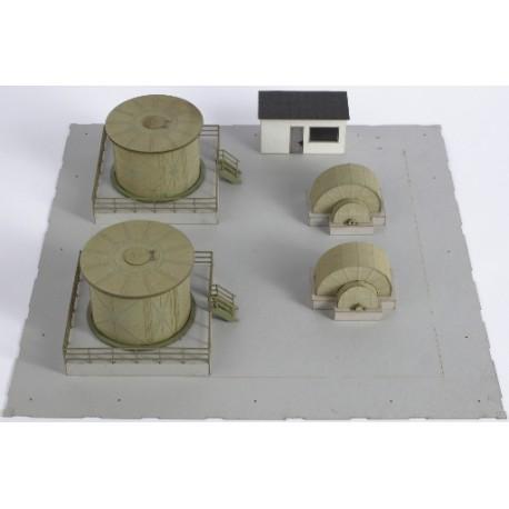 Équipement intérieur, usine d'ammoniac - Joswood 17063 - MAKETIS