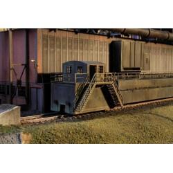 Wagon de transfert de charbon/coke, simple