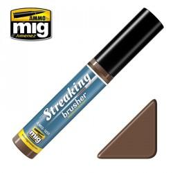 Peinture StreakingBrusher Marron moyen Mig AMIG1250 - Maketis