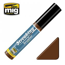 Peinture StreakingBrusher effets salissures Mig AMIG1253 - Maketis