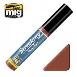 Peinture StreakingBrusher effet rouille Mig AMIG1254 - Maketis