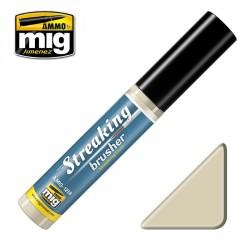 Peinture StreakingBrusher effet traînées de poussières Mig AMIG1258 - Maketis