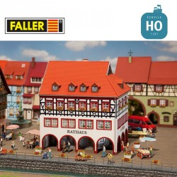 Mairie de petite ville HO Faller 130491 - Maketis