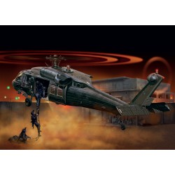 "Hélicoptère UH-60 Black Hawk ""Night Raid"" 1/72 Italeri 1328"
