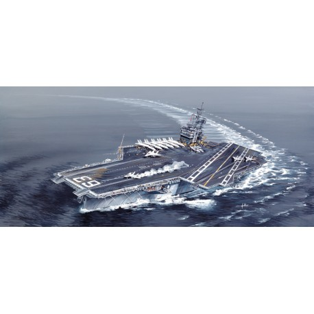 Porte-Avion USS Kitty Hawk CV-63 1/720 Italeri 5522 - Maketis