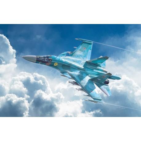 Avion Sukhoi SU-34/SU-32 FN 1/72 Italeri 1379 - Maketis