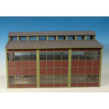 Grand batiment d'usine, modules 1 - Joswood 17086 - MAKETIS