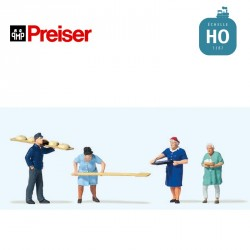 À la boulangerie HO Preiser 10712