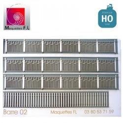Clôture béton modèle 02