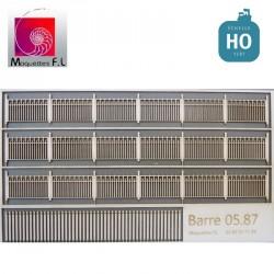 Clôture béton modèle 05