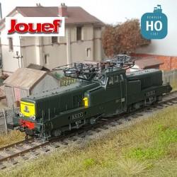 Locomotive électrique BB 13041 livrée vert jaune SNCF Ep IV Digital son Jouef HJ2337S
