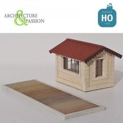 Bascule de gare ou de chantier UFR HO Architecture & Passion 87ACC02 - Maketis
