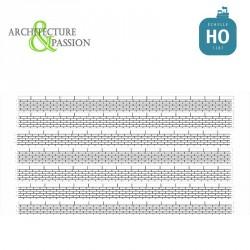 Bordures de quai voyageur moellons sans descente HO Architecture & Passion 87ACC06 - Maketis