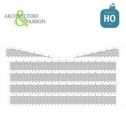 Bordures de quai marchandises moellons HO Architecture & Passion 87ACC07 - Maketis