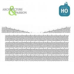 Bordures de quai marchandises pierres hexagonales HO Architecture & Passion 87ACC09 - Maketis