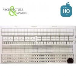 Caniveaux, passes-câbles, regards modèle 2 HO Architecture & Passion 87ACC16