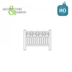 Barrières béton 92 type PLM HO Architecture & Passion 87ACC92 - Maketis
