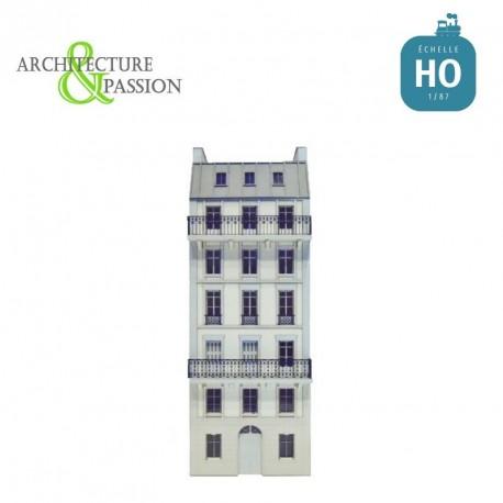 Immeuble Fond de décor 6 étages 101 HO Architecture & Passion 87FDD101 - Maketis