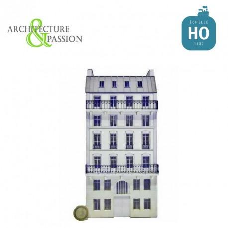 Immeuble Fond de décor 6 étages 102 HO Architecture & Passion 87FDD102 - Maketis