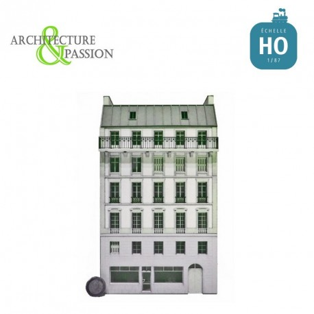 Immeuble Fond de décor 6 étages 103 HO Architecture & Passion 87FDD103 - Maketis