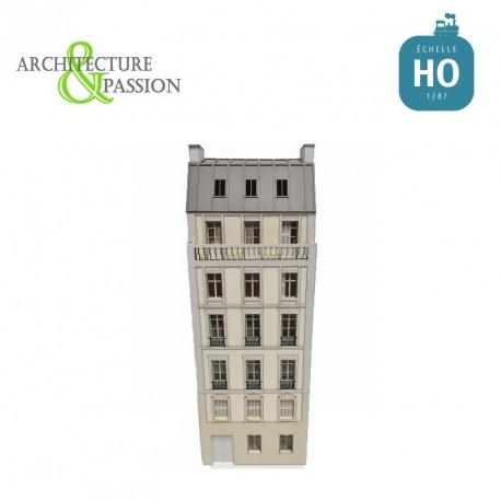 Immeuble Fond de décor 6 étages 104 HO Architecture & Passion 87FDD104 - Maketis