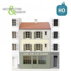Immeuble pour Fond de décor Café de la gare HO Architecture & Passion 87FDD255