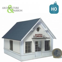 Bureau des postes HO Architecture & Passion 87VIL302 - Maketis