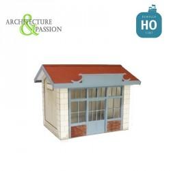 Abri de quai PLM type Maison-Dieu HO Architecture & Passion 875071 - Maketis