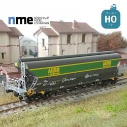 "Wagon céréalier Tagnpps 101m³ ERMEWA ""AGRO"" EP VI HO NME 512611"