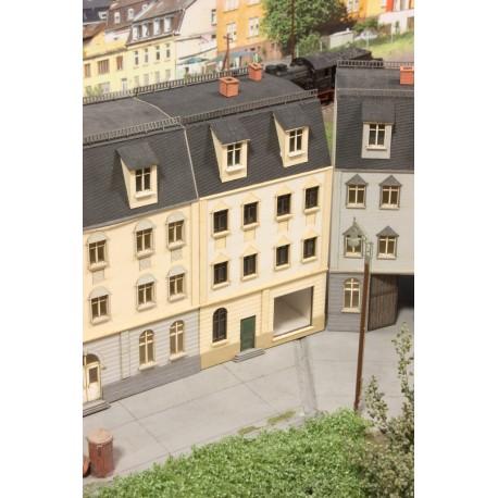 Immeuble de ville avec boutique, fin 19ème siècle - Joswood 21015 - MAKETIS