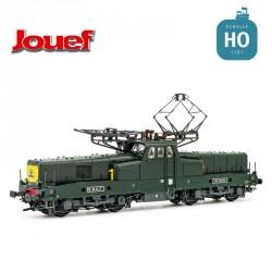 Locomotive électrique BB 12079 livrée vert jaune SNCF Ep IV Digital son Jouef HJ2338S - Maketis