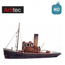 Remorqueur portuaire en kit résine HO Artitec 50120