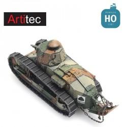 Char Renault FT17 DENISE 14-18 HO Artitec 6870223 - Maketis