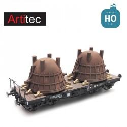 Chargement de grands récipients industriels HO Artitec REE