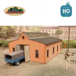 Truck workshop, brick - Joswood 17077 - MAKETIS