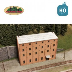 Backyard workshop, 3D brick
