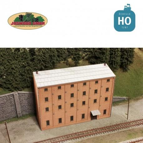 Atelier d'arrière-cour, brique 3D - Joswood 17078 - MAKETIS
