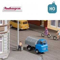Multicar M22 avec conteneur à ordures HO Auhagen 41645 - Maketis
