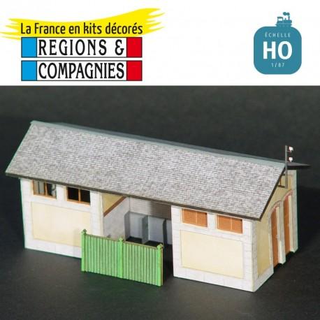 WC lampisterie type PO (Condat St Amandin) HO Régions et Compagnies GAR403