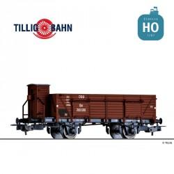 Wagon tombereau à essieux Om OBB Ep III HO Tillig 76728