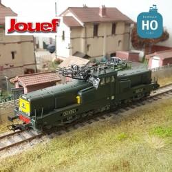 Locomotive électrique BB 12026 livrée vert jaune SNCF Ep IV Digital son Jouef HJ2339S - Maketis