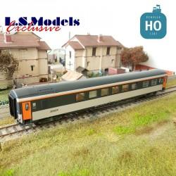 Wagon Restaurant Club 34 Cartouche Corail logo nouilles SNCF EP V HO LS Models 40341