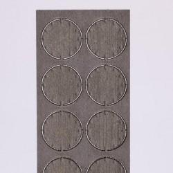 Plaque d'extrémité 12,4 mm (10 pièces)